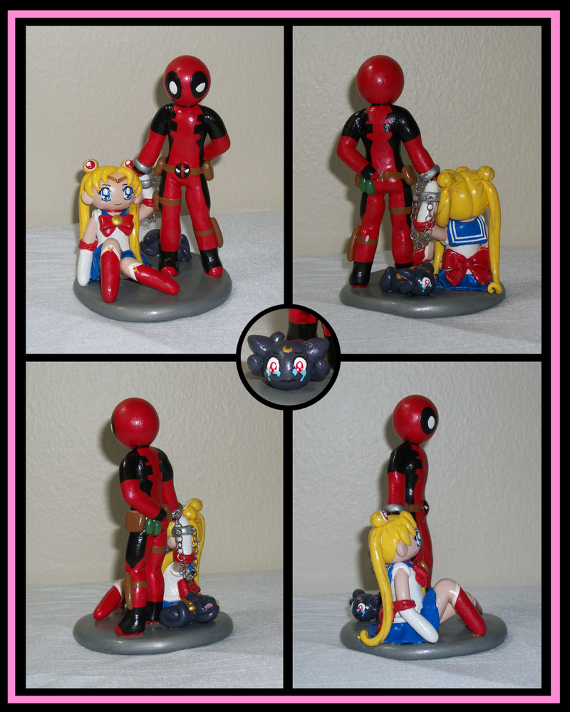 Sailor Moon And Deadpool By KingMelissa On DeviantArt