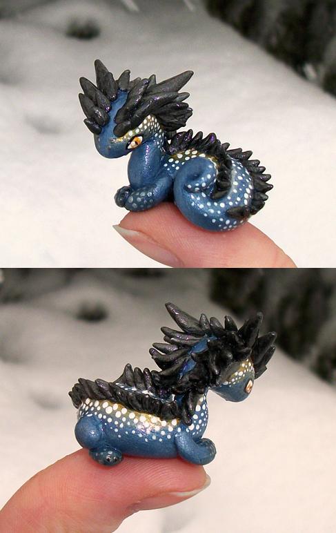 Milky Way 'Thumb' Dragon by KingMelissa