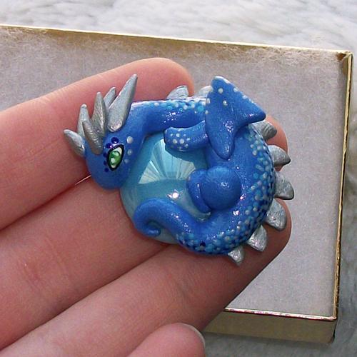 Winter Dragon by KingMelissa