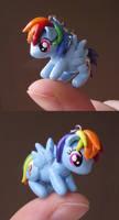 Rainbow Dash Charm by KingMelissa