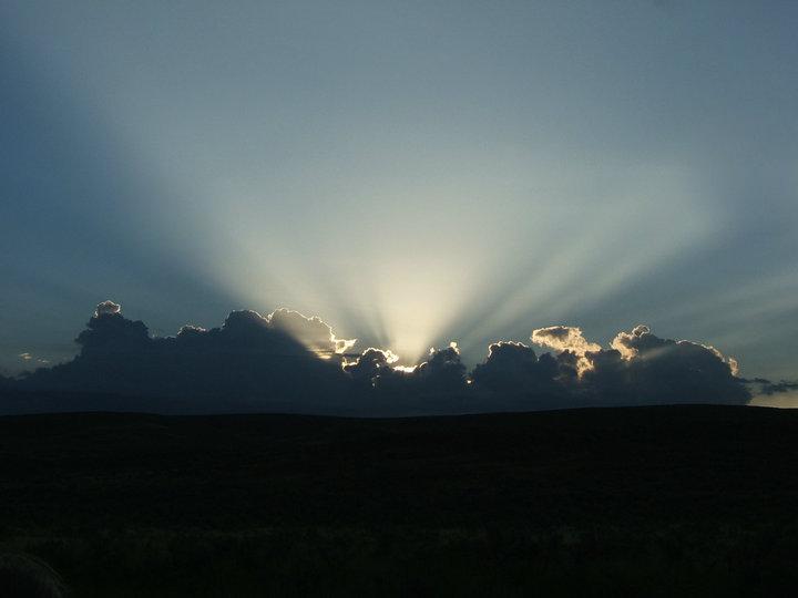 Wyoming Sunrise by reederda
