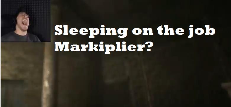 Markiplier fell asleep by SerVantoDeathwing