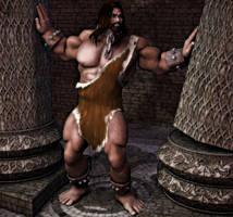 God vs. Dagon: Samson's last stand by Knight22179