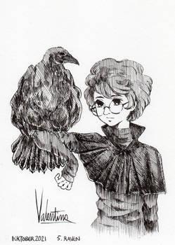 (Inktober2021) 5. Raven