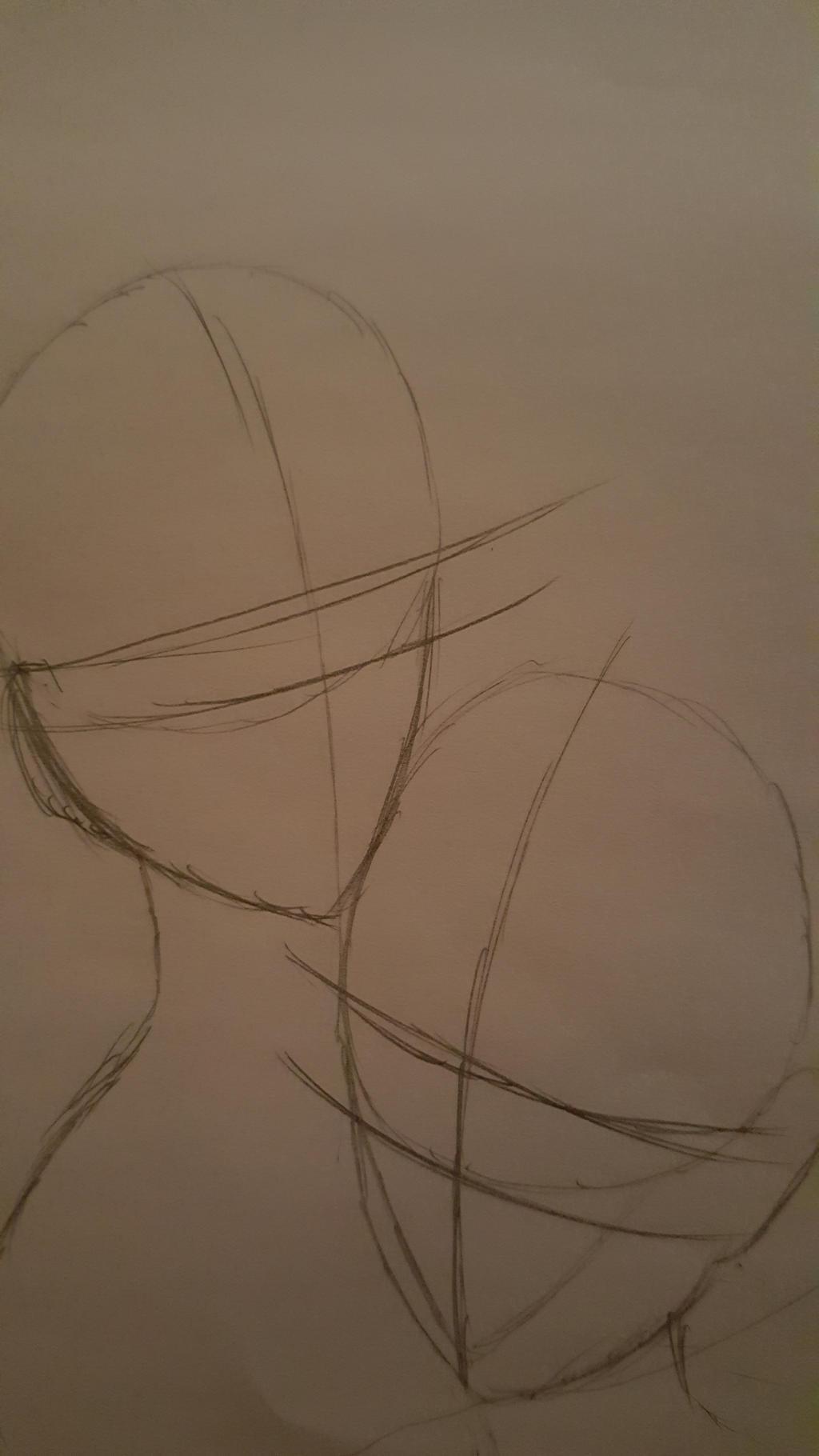couple drawing version by YinDawnTsubasa