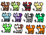 1 Point adoptables 2