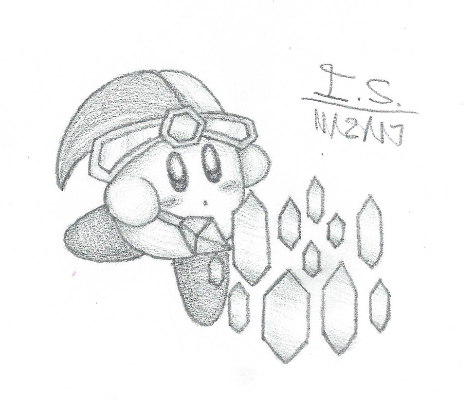 Mirror Kirby Sketch by BubbleKirby77 on DeviantArt