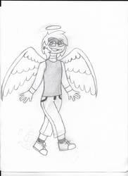 This Gay Angel Boi by Wafflesgucci
