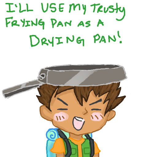 Brock S Trusty Drying Pan By Hydrospyder On Deviantart