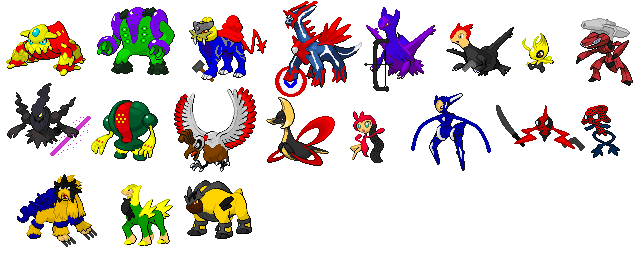 Pokemon Avengers Updated 2 by sarethas9 on DeviantArt