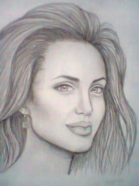 Angelina Jolie by Mari945