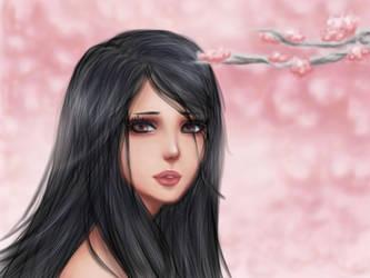 Raven Sakura by Mari945