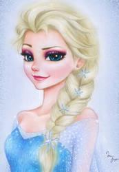 Frozen: Elsa by Mari945