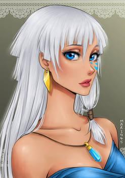 Princess Kida of Atlantis