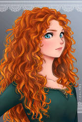 Merida from Brave by Mari945
