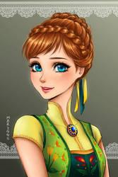 Anna -Frozen Fever by Mari945