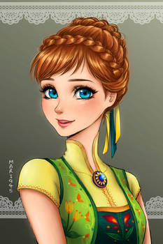 Anna -Frozen Fever