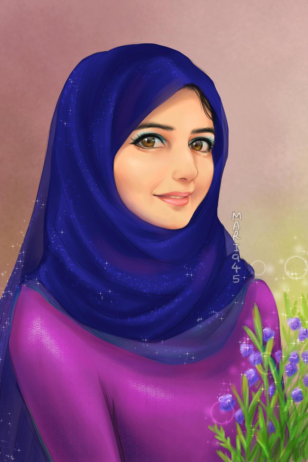 Hijabi By Mari945 On Deviantart-4483