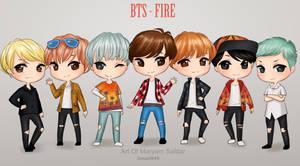 BTS - 'fire'