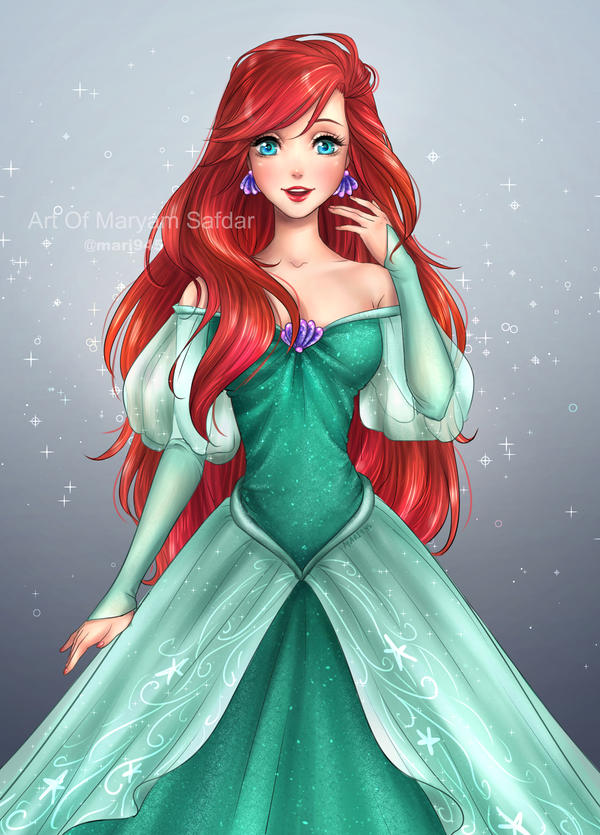 Princess Ariel By Mari945 On Deviantart