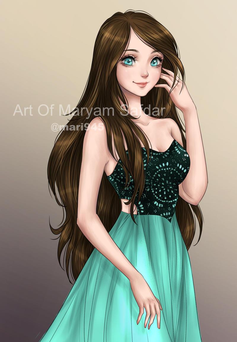 Oc Art Commission By Mari945 On Deviantart