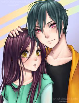 Nova and Violette :Rara Avis