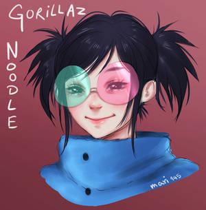 Gorillaz: Noodle (Saturnz Barz)