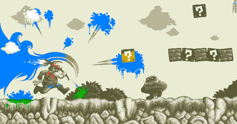 Super Mario Bros: Mario Paint by Kradakor