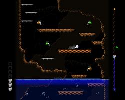 Dropping Danger: Polished Graphics Mockup