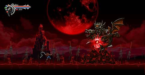 Demon Castle War by Kradakor