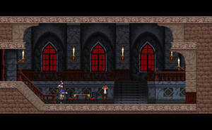 Bloodstained 2D by Kradakor