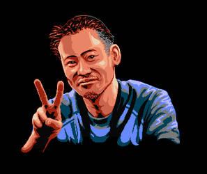 Pixel Inafune-san by Kradakor