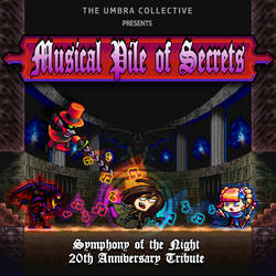 Musical Pile of Secrets - Cover Art by Kradakor