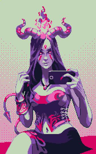 The Succubus' Selfie by Kradakor
