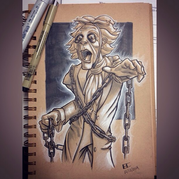 Jacob Marley From The Christmas Carol By BrianC215 On