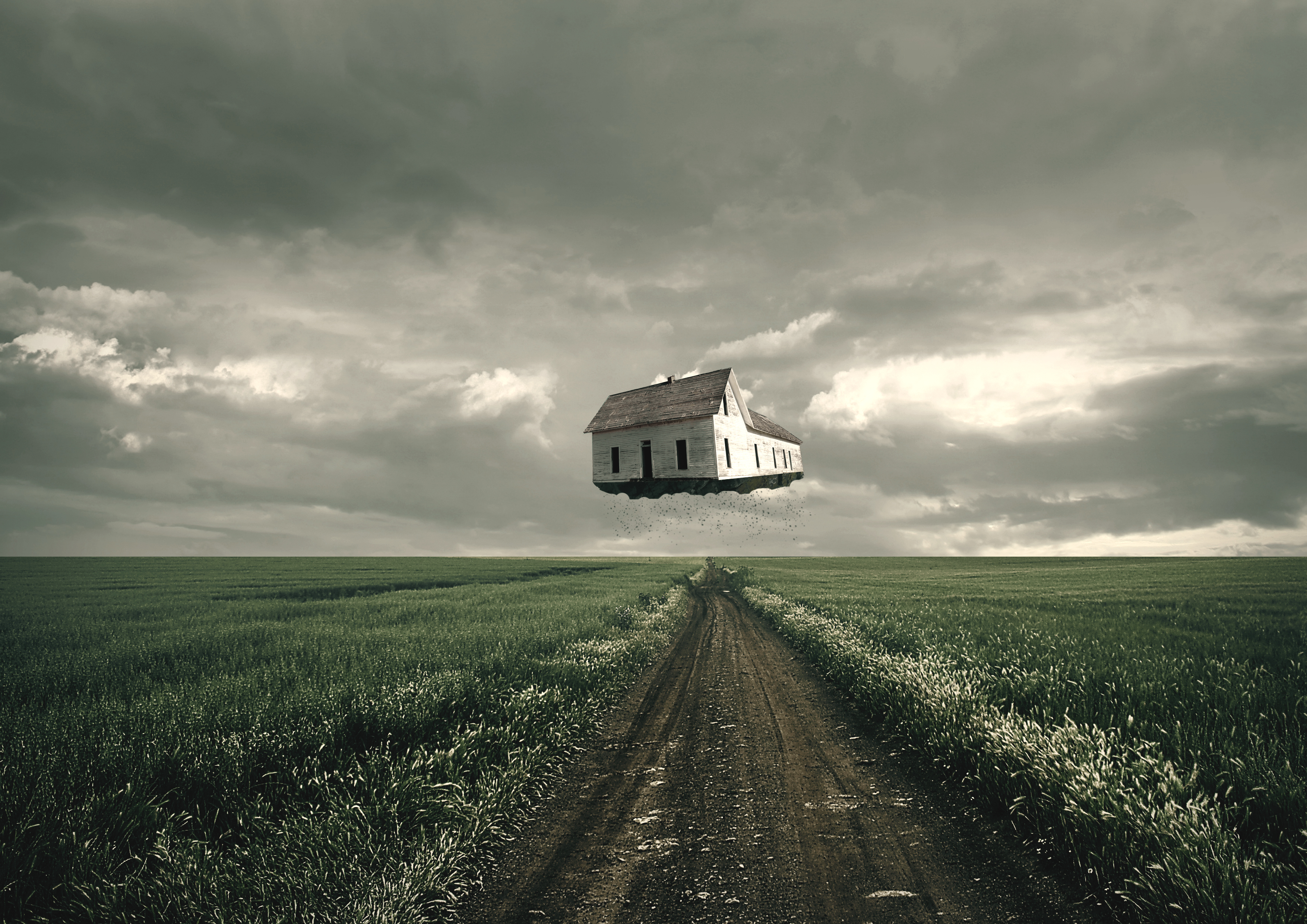 Flying house by timkir on deviantart for Flying haus