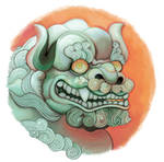Jade Foo Dog Vignette