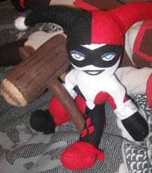 Harley Quinn Plush 2 by IrashiRyuu