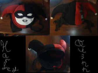Harley Quinn Back Pack by IrashiRyuu
