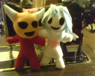 Devil Doll And Candy Angel by IrashiRyuu