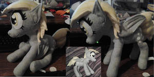 Derpy Hooves Plushie For Sale by IrashiRyuu