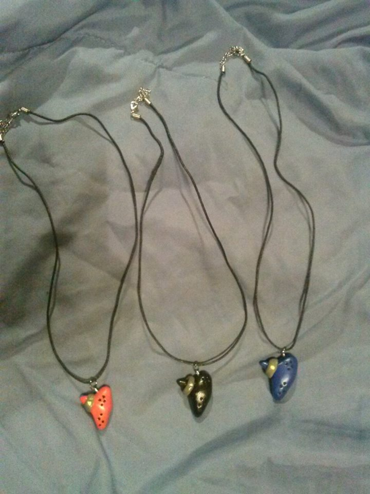 Zelda Ocarina Necklace Pendant For Sale by IrashiRyuu