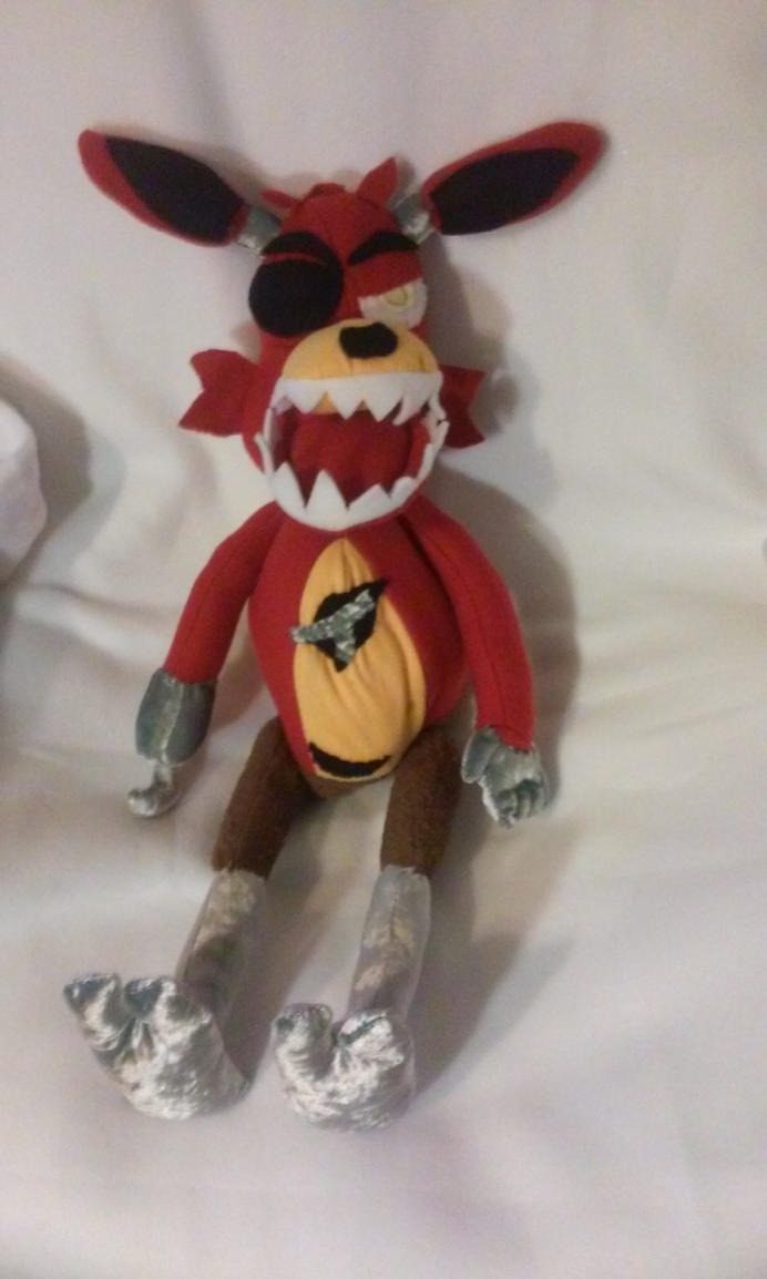 Five nights at freddy s foxy plush for sale by irashiryuu on