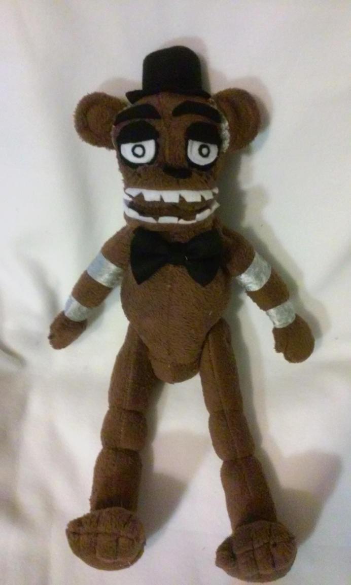 Five Nights At Freddy's Fazbear plush for sale by IrashiRyuu
