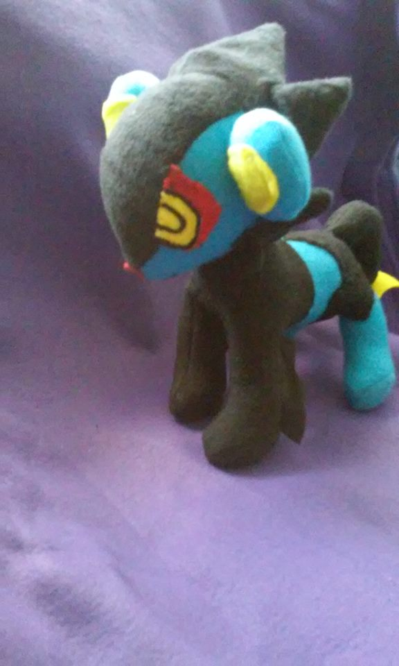 Pokemon Luxray Plush For Sale by IrashiRyuu