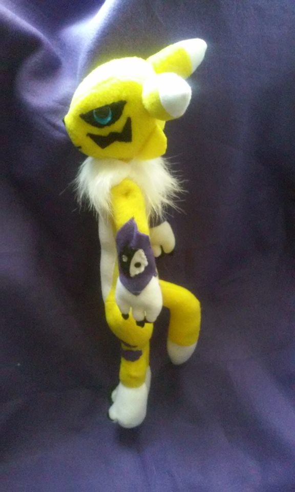 Renamon Plush For Sale by IrashiRyuu