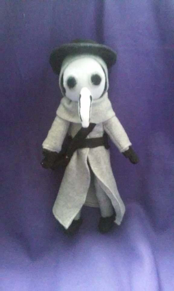 The Plague Doctor Plush For Sale by IrashiRyuu