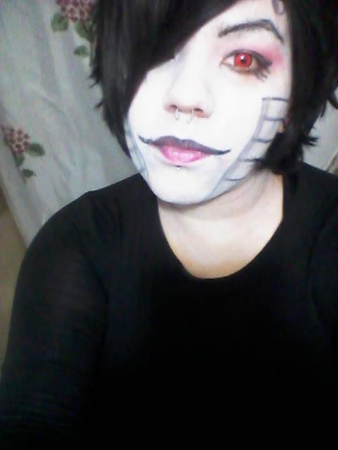 Mettaton Makeup Test by IrashiRyuu