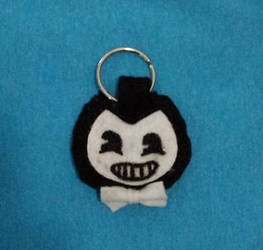 Bendy Keychain For Sale by IrashiRyuu