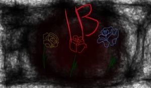 Ib...three roses
